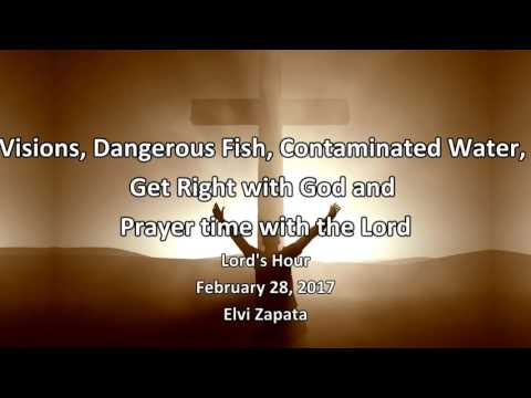 Visions, Dangerous Fish, Contaminated Water and Get Right with God - Elvi Zapata