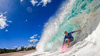 SURFING HEAVY SHOREBREAK WAVES! (HAWAII)