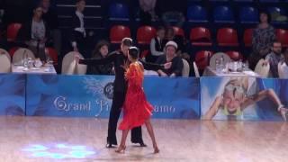 WDSF Open Junior 2 Latin Cha Cha Yaroslav Kiselev - Sofia Philipchuk