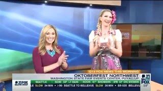 Q13 Fox News   Manuela Horn yodels 'Like a Virgin'