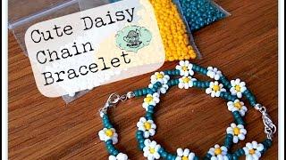 DIY: Cute Daisy Chain Bracelet ¦ The Corner of Craft