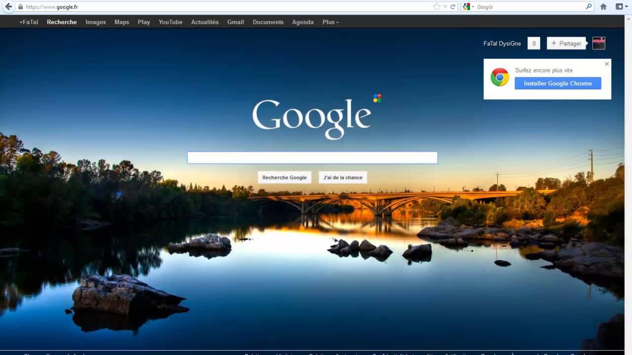 comment mettre une image en fond d u00e9cran sur google chrome