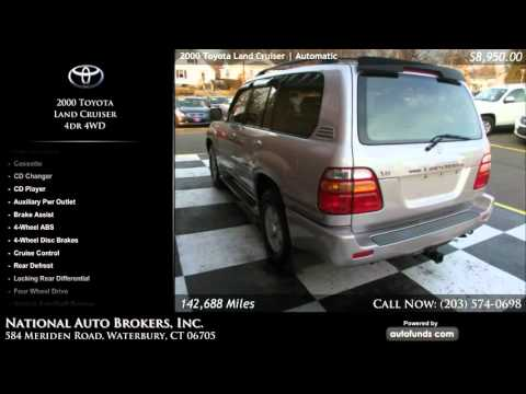 Used 2000 Toyota Land Cruiser | National Auto Brokers, Inc., Waterbury, CT