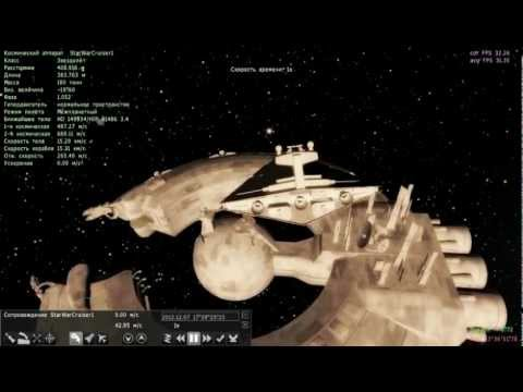 Space engine 0 96 space station and spaceships youtube