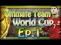 FIFA 14 Ultmate Team World Cup - Journey to the Final Ep 1 | My Starting 11