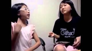튼튼영어로 영어 프리토킹 완전정복! - 자매회원 이태화, 이다영 (2) Video