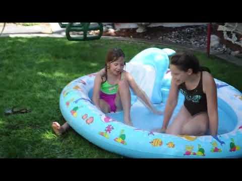 Caidas y Videos graciosos Noviembre 2017 #12 (niños / piscina)