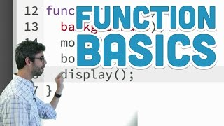 5.1: Function Basics - p5.js Tutorial