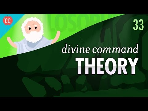 an analysis of the divine command theory An exposition of the euthyphro dilemma, an argument against divine command theory that is often attributed to plato.