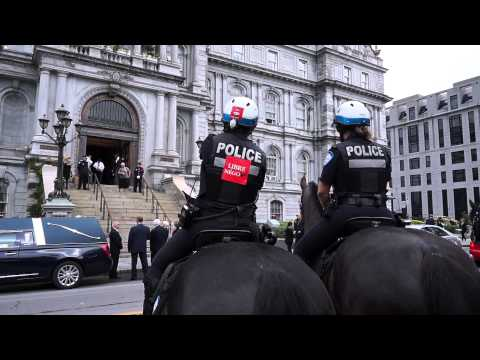 SPVM Cavalry Mounted Police At Montréal City Hall 00035