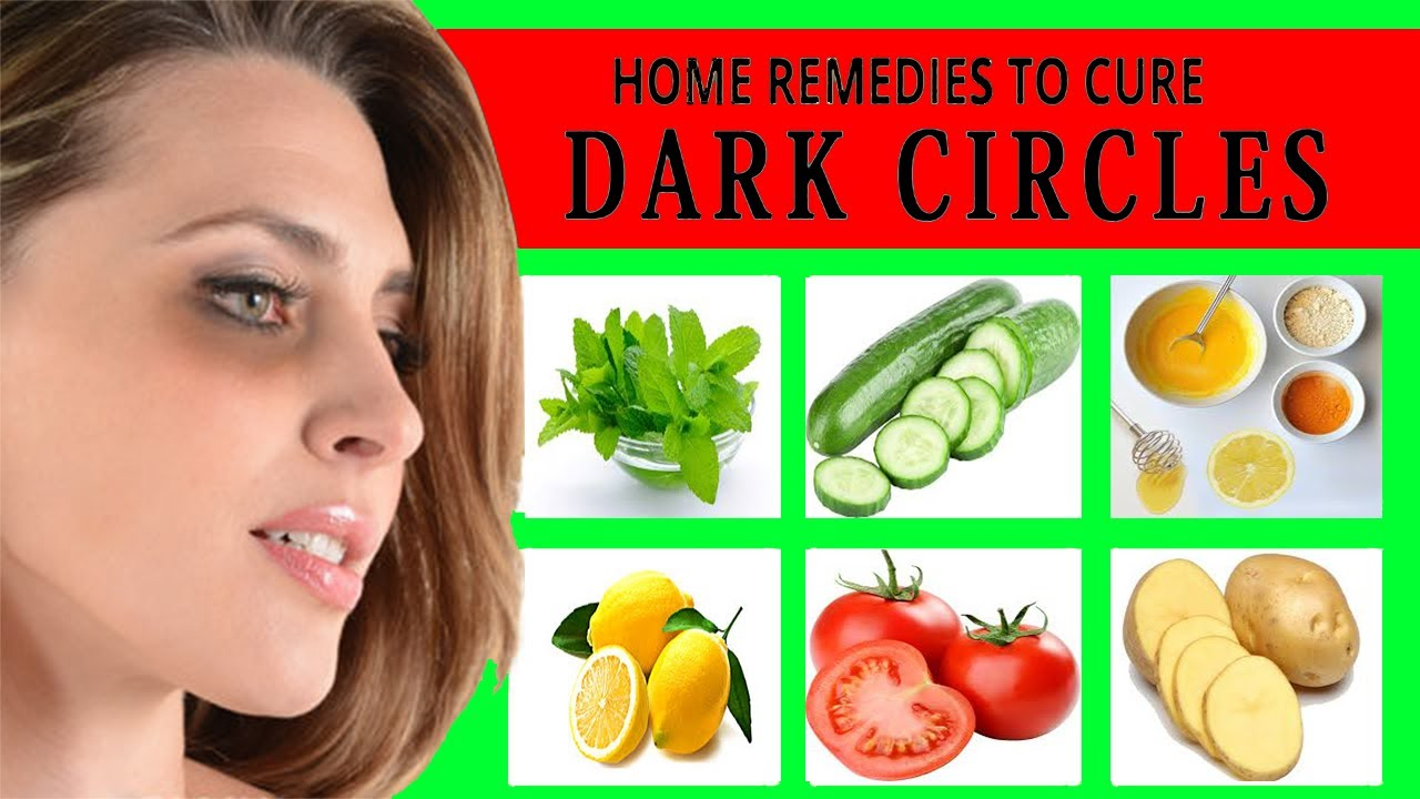 Use These Home Remedies And Get Rid Of Dark Circles Under ...