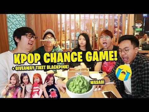 CHANCE GAME WASABI SAMPE KENYANG dan BAGI-BAGI 4 TIKET BLACKPINK!