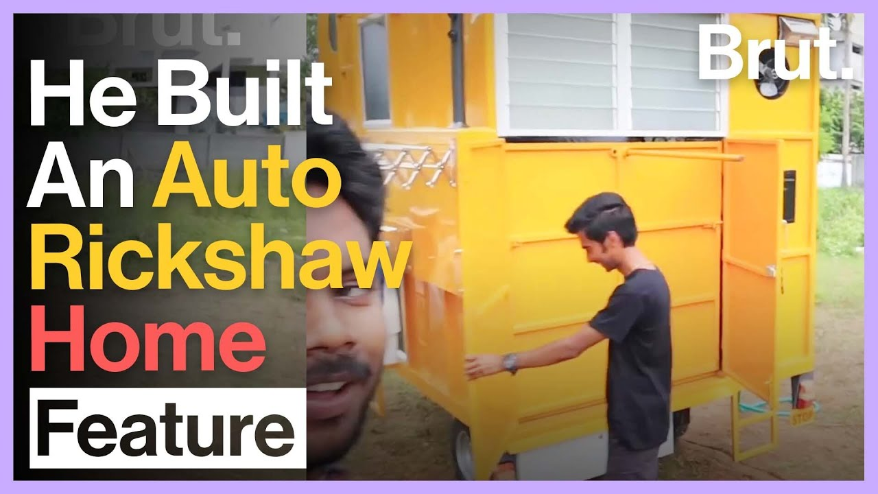 This Auto-rickshaw Is A Hi-Tech Home