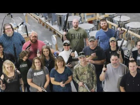 Company giving workers handguns for Christmas