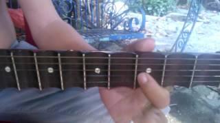 Hướng dẫn guitar Lý Con Sáo  - Dây đào