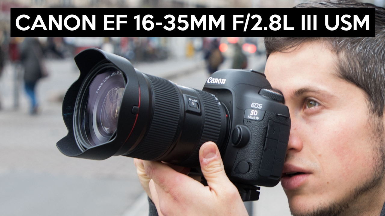 Canon EF 16-35mm F/2.8L III USM Review deutsch | super ...