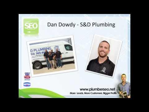 Plumber SEO Testimonial with Dan Dowdy of S & D Plumbing
