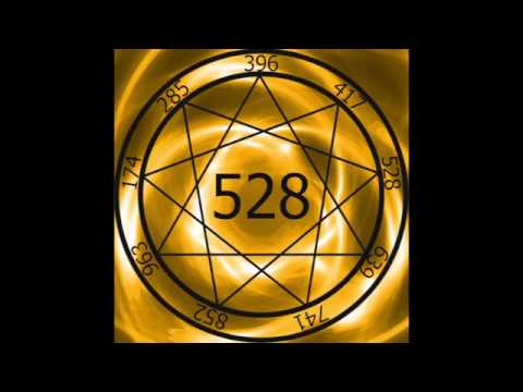 1 Hr  Solfeggio Frequency 528hz ~ Transformation and Miracles
