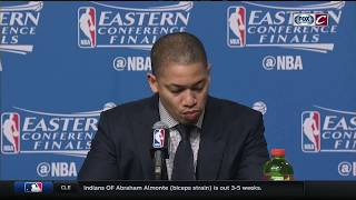 Ty Lue postgame press conference | Cavs vs. Celtics Game 1 | 2017 NBA Playoffs