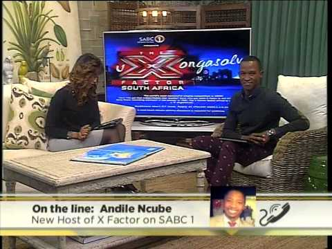 We chat to the new official presenter of XFactor South Africa, Andile Ncube (5 June 2014)