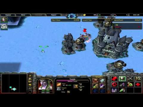 Прохождение карты (X Hero Siege 3.45)