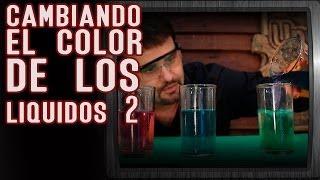 Cambiando el color de los líquidos 2 │ Experimento de química