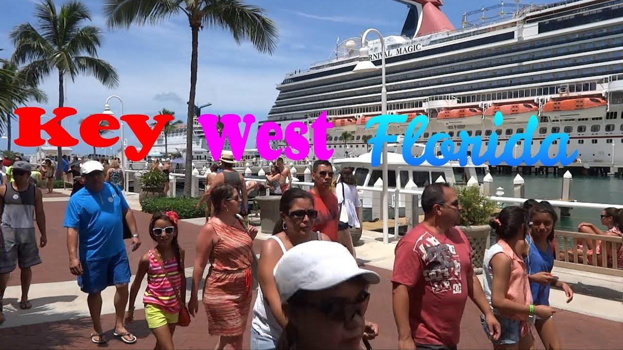 Key West Florida Port Of Key West Sunset Key 90 Miles