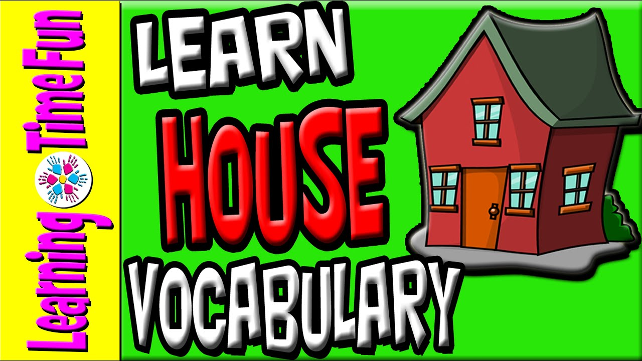 Parts of the house english language youtube - House Vocabulary In English For Kids Aprender Ngles Ni Os Ngles Para Crian As Apprendre Anglais