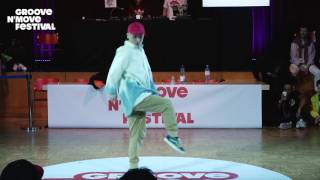 GROOVE'N'MOVE BATTLE 2017 - Shuho Judge Demo