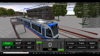 ROBLOX: PLAYING Transport Simulator 18 AS A TRAM DRIVER!