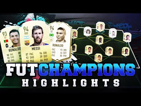 IS CR7 OR MESSI BETTER FOR FUT CHAMPS?! MY FUT CHAMPIONS HIGHLIGHTS! #FIFA20 Ultimate Team