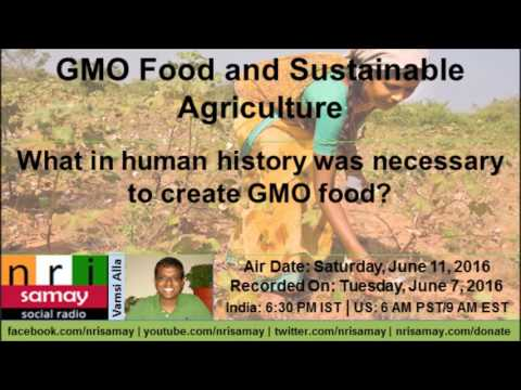 GMO Food and Sustainable Agriculture  with Alison Peck Part1/2