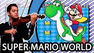 SUPER MARIO WORLD - Bonus Theme (Violin / Violino)