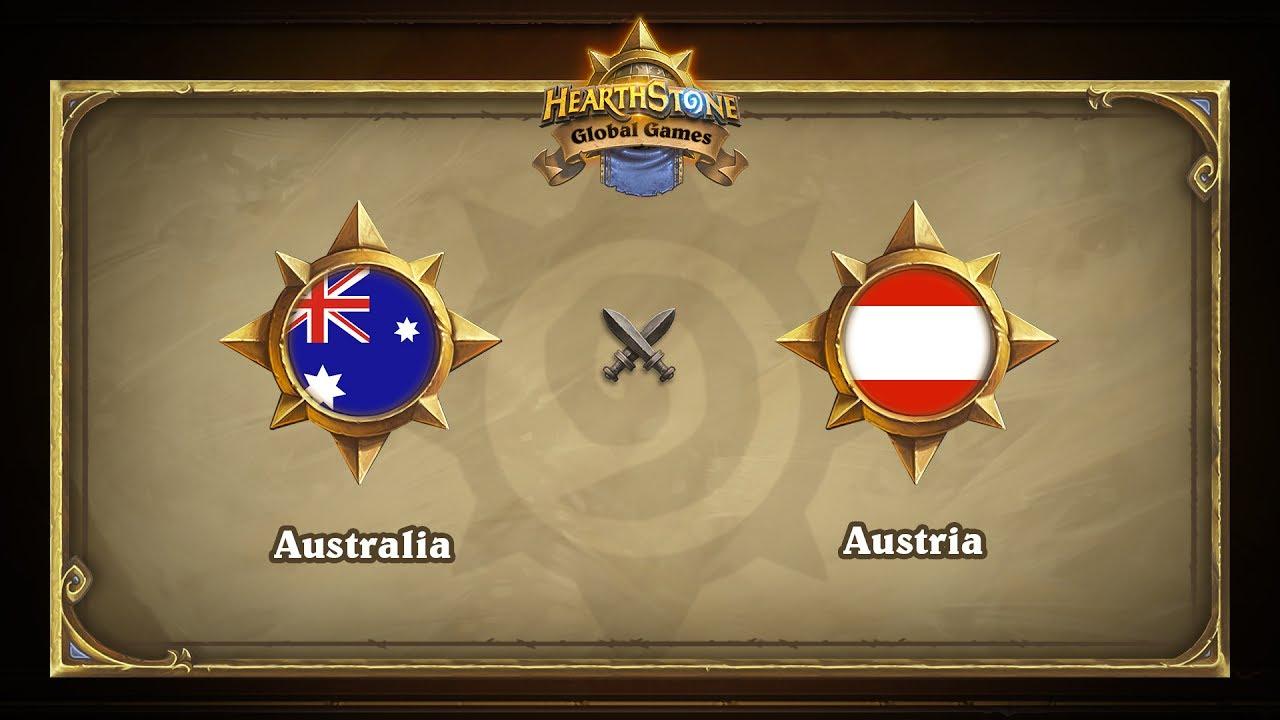 Австралия vs Австрия   Australia vs Austria   Hearthstone Global Games (06.06.2017)