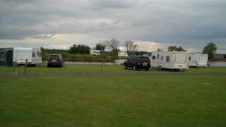 view from pitch 30 at pillaton hall farm,penkridge,staffordshire,