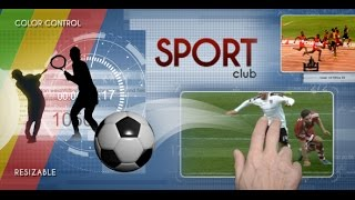 Sport - TV Pack | After Effects template