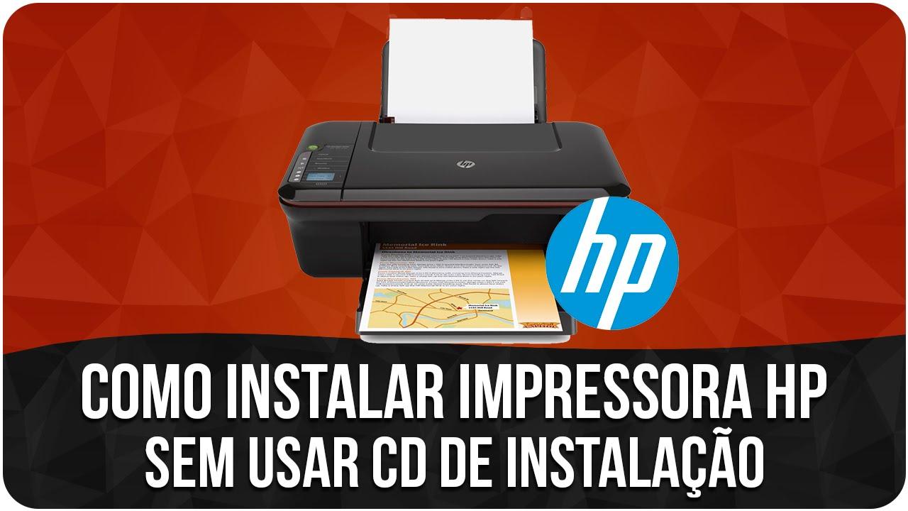 o driver de instalao da impressora hp deskjet 3650