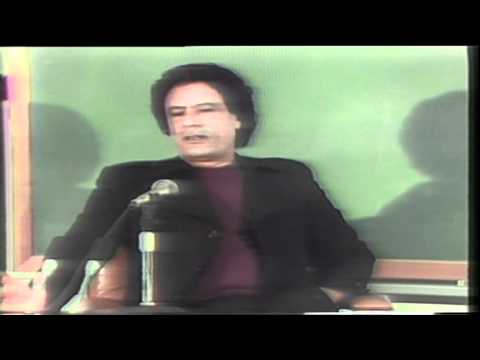 1985 Interview with Libya's Gadhafi