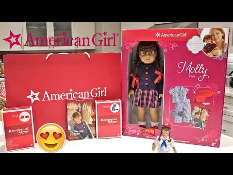 Opening American Girl Doll BEFOREVER Molly I Costco Gift Set!