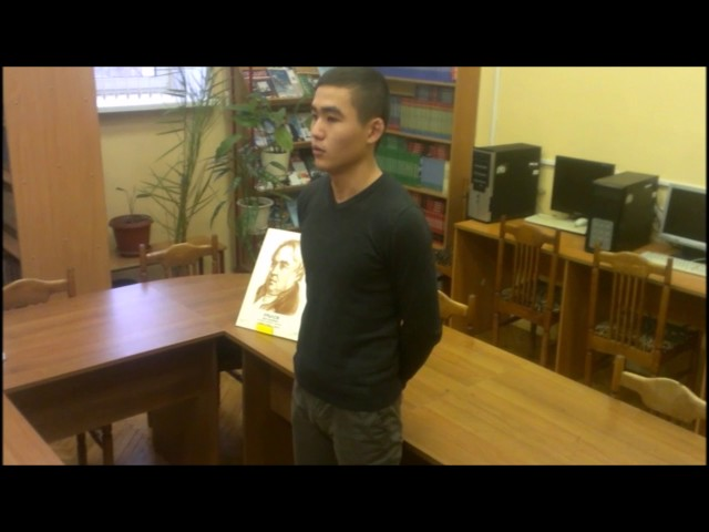 Изображение предпросмотра прочтения – БадмаУбушаев читает произведение «Вельможа» И.А.Крылова