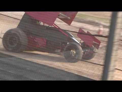 Paradise Speedway Brandyn Griffin practice 2 8/9/17