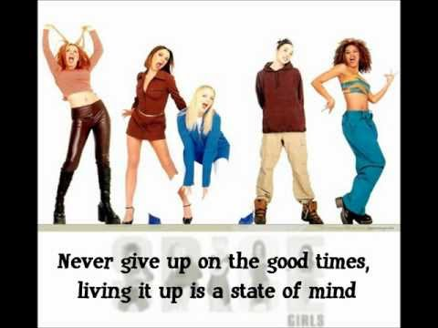 Spice Girls - Never Give Up On The Good Times (Karaoke Instrumental)