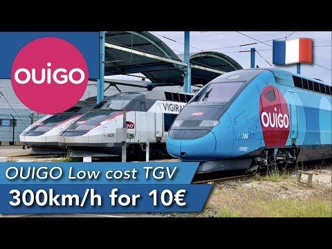 TRIP REPORT | OUIGO (ECONOMY) | TGV HD | Paris Gare De Lyon🇫🇷 - Toulon🇫🇷