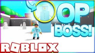 DEFEATING THE OP ICE BOSS(Roblox Magic Simulator)