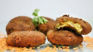 মসুর ডালের কাবাব রেসিপি I Red Lentil Kabab Recipe I Ramadan Special Iftar 2018 I Masoor Daal  Kabab