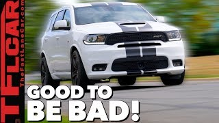 What's Good, Bad, and Weird about the 2018 Dodge Durango SRT