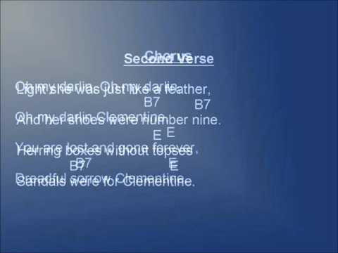 Clementine lyrics and chords