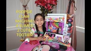 Poopsie Claw Machine Unboxing! DIY Slime &amp Cutie Tooties Surprise!!