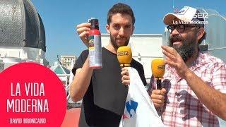 Broncano regala un spray anti osos a Ignatius #LaVidaModerna