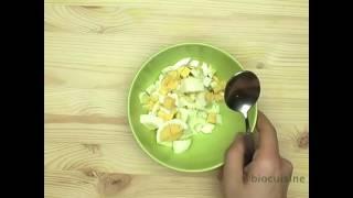 Яйцо в сметане